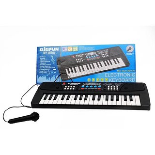 Shribossji Bigfun Electronic Piano Keyboard With 37 Keys Musical Instruments For Kids-- Premium Quality (Multicolor)