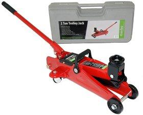 Autofurnish Universal 2 Ton Professional Trolley Hydraulic Jack