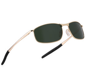 ROYAL SON HD Polarized Sport Mens Unisex Sunglasses - Green