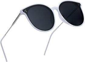 ROYAL SON Oversized Cat Eye Women Stylish Sunglasses - Black