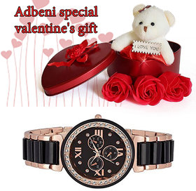 Adbeni Special Valentine Day Gift Hampers With Glow Watch-GC1111