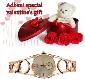 Adbeni Special Valentine Day Gift Hampers With Glow Watch-GC1113