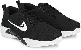 Evolite Black Sports Shoes