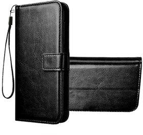 Wondrous Vintage Leather Flip Wallet Case for Redmi Note 7  Redmi Note 7 Pro  Redmi Note 7s