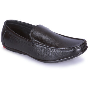 EFFORTWIN Men's Black Synthetic Leather Formal Shoes