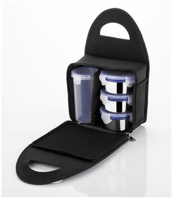Kkart Multicolour Stainless Steel Lunch Box