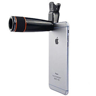 Ad Net Tech Gear 12x Zoom Optical Universal Telescope Lens for iPhone HTC