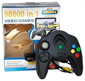 98000 In 1 Video Game Black