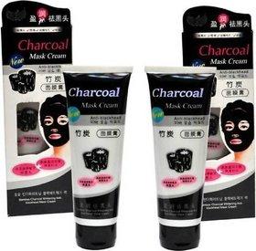 charcol mask cream set of 2