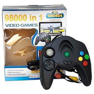 98000 in 1 Video Game (Black)
