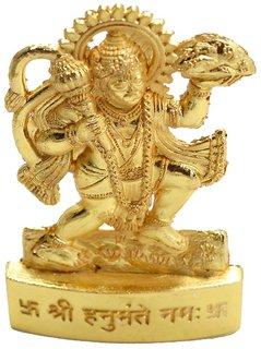 AFH Hanuman God Idol for Car Dashboard, Home, Office, Mandir Decor