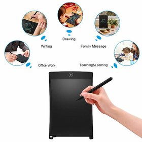 8. 5 inch Blue LCD E-Notepad Writing Pad/Tablet Drawing Memo Board Paperless Digital Tab (Colors May Vary)