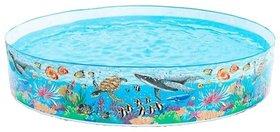 Latest Blue PVC World Splash Swimming Pool - 8 Feet