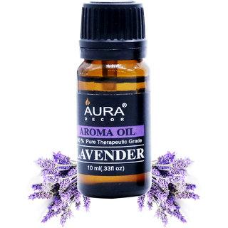 AuraDecor Lavender Aromatherapy Oil, 10ml