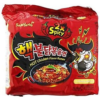 Fire Chicken (Buldak) 2X Spicy 5 Pack
