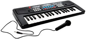 37 Key Piano Keyboard Toy with DC Power Option, Recording and Mic
