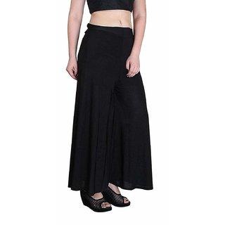 Uner Causaual Black  Imported Malaii Palazzo Pant or trousers