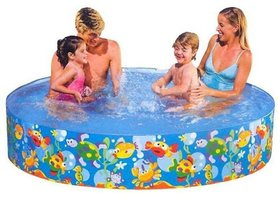Water Pool Bath Tub Swimming Pool for kids 6 feet no air required