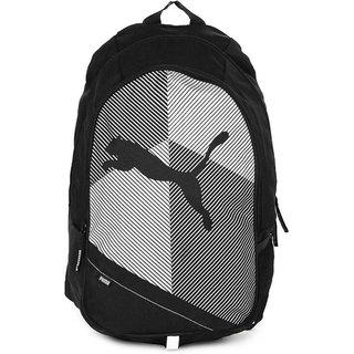 Puma Echo Black-White Laptop Backpack