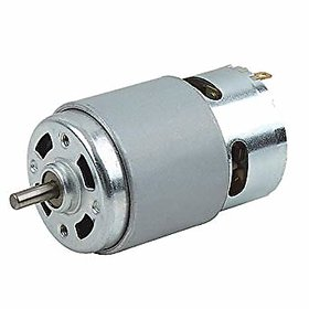 RS775 High RPM Torque 12V Brushed DC Big Strong Motor, DIY Project (RS-775, Multicolour)