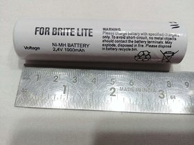 Rechargeable Battery 2.4V 1900MAh (Work in Brite Lite LED Light Torches) Small