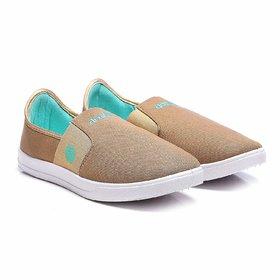Action Beige Men Slip on Shoes