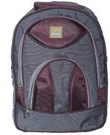 Proera Purple Polyester 25 Ltrs College Backpack Office Bags Shoulder Backpack For Men & Women