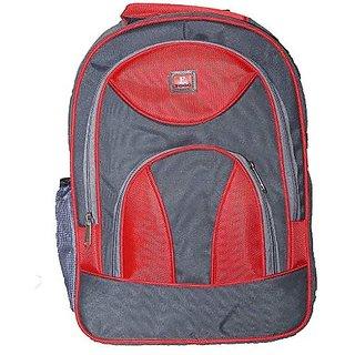 Proera Red Polyester 25 Ltrs College Backpack Office Bags Shoulder Backpack For Men  Women