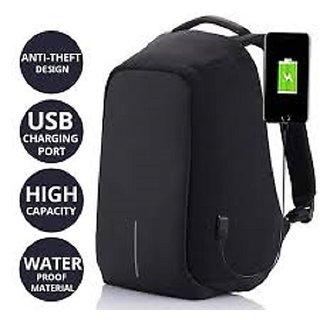 Proera Black Anti Theft College Bags Backpacks Laptop Bags 14.6 Inch Shoulder Bag Side Bag For Men Women Backpacks