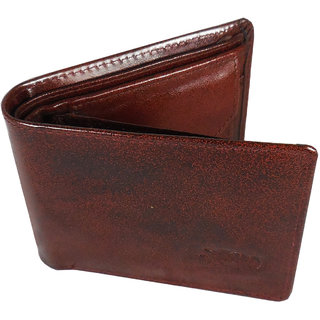 Evermore Brown Genuine Leather Men's Wallet
