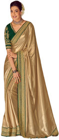 SBSK Women's Fashion Kajal 1106 Designer Saree With Unstitched Blouse (Kimora Saree)