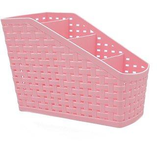 Vessel Crew (Plastic Holder) Storage Box Desktop 4 Grid Sub-Grid Storage Case Remote Organisers- Storage Organizer
