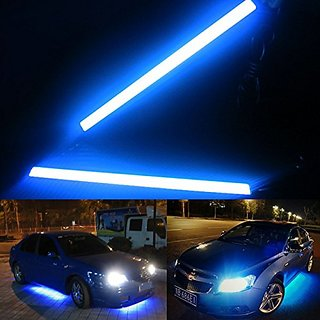 Universal Daytime Running Lights for Cars, Ice Blue