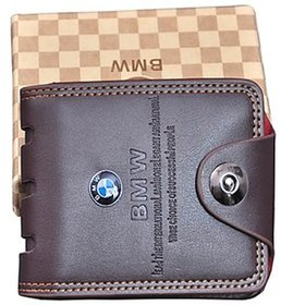 Samm and Moody PU Leather BMW Single Magnet Waller For Men/Boys