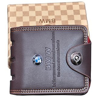 Samm and Moody PU Leather BMW Single Magnet Waller For Men/Boys (Synthetic leather/Rexine)