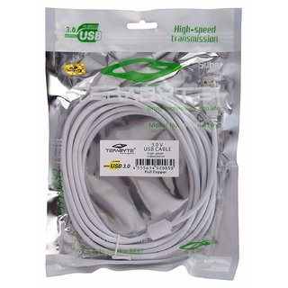 Terabyte USB 3.0 High   Speed Extension Cable  White  Cables