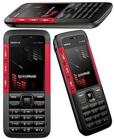 Refurbished Nokia 5310 Mobile Phone Red