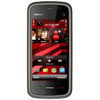Refurbished Nokia 5233 Mobile Phone Black (6 Months Seller Warranty)