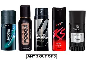 Axe FOGG YAARDLEY WS AND KS (ANY 3 OUT OF 5))(Flavours May Vary)
