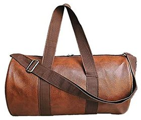 Proera Unisex 20 Litres Tan Duffel/Gym/ Travelling Bag