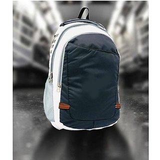 Proera Blue White School/Laptop/Office/College Bag For Boys Girls 14.6 Inch (Unisex)