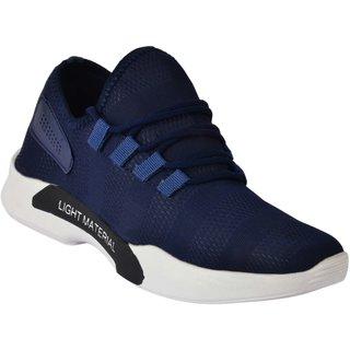 Aadi Men's Blue Mesh Running Sport Shoes