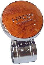 I-Pop car steering knob (Wooden)