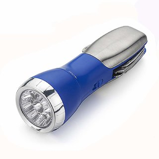 House of Quirk All-in-One Multi Tool 9-LED Super Bright Flashlight + 1 Red LED - Multicolor