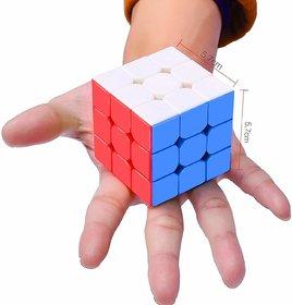 3X3X3 Premium adjustable Speediest Magic Rubix's Cube Puzzle Toy , Stickerless , High Stability , ultra smooth corner