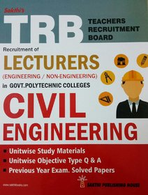 TRB Exam Guide for Recruitment of LECTURERS CIVIL ENGINEERING