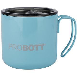 PROBOTT Thermosteel Vacuum Mug HOT Cup Mug 350ml -Light Blue PB 350-06