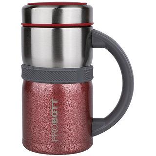 PROBOTT Thermosteel Vacuum Mug Brew Mug 500ml -Red PB 500-15