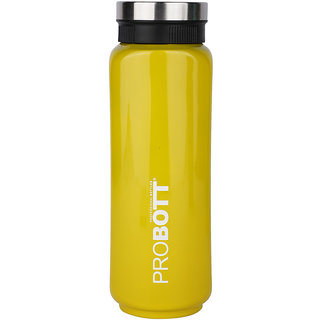 PROBOTT Thermosteel Sliced Vacuum Flask 500ml -Yellow PB 500-41