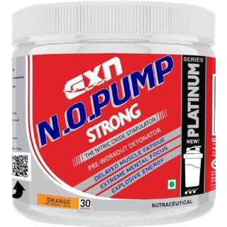 GXN N.O.Pump Strong Pre Workout 30 Servings (Orange)